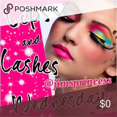 WEDNESDAY @jimsprincess MAKEUP SHARE GROUP  SIGN UP BELOW @username   SHARE 5 ITEMS FROM MAKEUP CATEGORY FROM EVERYONE THAT SIGNED UP   SIGN UP CLOSES AT 4PM   PLEASE SIGN OUT WHEN FINISHED   NO COMMENTS TILL SIGN UP IS CLOSED   ANY QUESTIONS, PLEASE ASK ON Q&A LISTING Makeup Foundation
