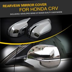 For Honda CRV CR-V 2012 2013 2014 ABS Chrome Side Door Mirrors Rearview Cover Car Styling