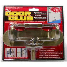 The Door CLUB Home Security Device - Antique Brass | Meijer.com
