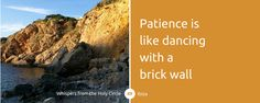 [WHISPER] Patience is like dancing with a brick wall #channeling #patience