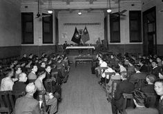Chinese Seamens' Union meeting in the Trades Hall Auditorium 1944