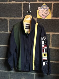 A personal favorite from my Etsy shop https://www.etsy.com/listing/485212080/vintage-90s-mens-medium-nautica-jacket