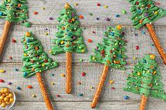 Christmas Tree Pretz