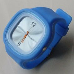 Jelly Watch Silicone Wristband Blue by sscom. $3.49. High Quality Silicone Watch Comfortable Fit  Adjustable Strap