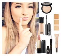 """""""Becky g"""" by makemehappyniall ❤ liked on Polyvore featuring beauty, LORAC, MAC Cosmetics, NARS Cosmetics, Lancôme and Napoleon Perdis"""