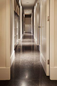 Belgian bluestone flooring
