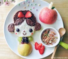 Ваш ребёнок плохо ест? Любовь и фантазия - это всё, что вам нужно!