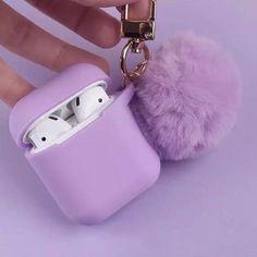Violet Aesthetic, Lavender Aesthetic, Cute Ipod Cases, Iphone Cases, Soft Purple, Lilac, Fone Apple, Cute Headphones, Accessoires Iphone