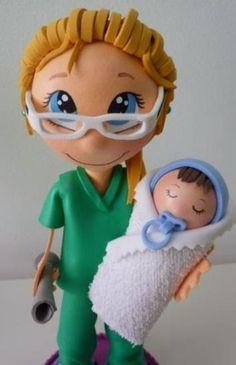 фофуча (куклы и игрушки из фоамирана)идеи,мастер-классы: доктора