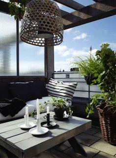 Coffee Break | The Italian Way of Design: Guest Post: Idee per arredare un terrazzo in città