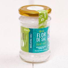 200 g - Portugalská mořská sůl nejvyšší kvality - FLOR DE SAL - SOLNÝ KVĚT / Královna soli - Jedna z nejvzácnějších solí - držitel certifikátu SATIVA a CERTIPLANET Drink Bottles, Vitamins, Flora, Water Bottle, Drinks, Beverages, Drink, Vitamin D, Beverage