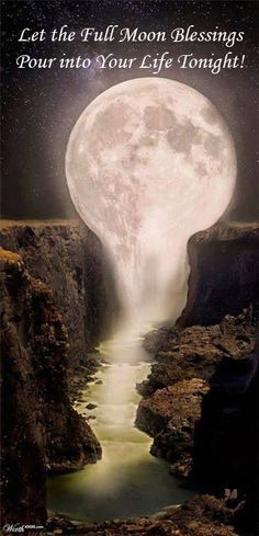 Time to say good night and I hope that you are enjoying the full moon and all of its blessings. Be sure you send up your wishes tonight. Many blessings, Cherokee Billie