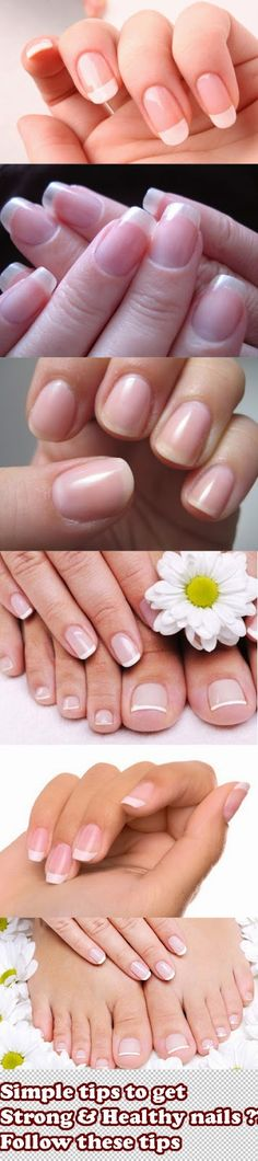 Want healthy & strong nails ?? Follow these tips