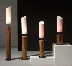 Lamparas Naturales TRONCO. Ilumianción Beltran, tu tienda online en lámparas de maderas naturales. www.decoracionbeltran.com