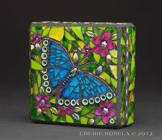 Butterfly | Cherie Bosela    // Beautiful mosaic  great photography! //