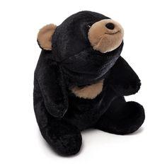 "Snuffles Black 10"" Bear Plush # 4043801 Gund NWT #AllOccasion"
