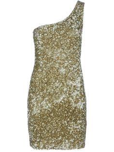 P.A.R.O.S.H One Shoulder Sequin Dress by P.A.R.O.S.H