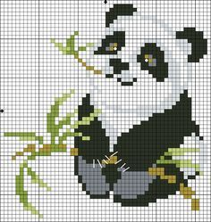 panda cross stitch