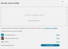 Adicionar Imagens no WordPress confira mais em http://www.publicidadecampinas.com.br/adicionar-imagens-wordpress/. Nessa tela, você pode fazer upload de arquivos antes de criar as páginas ou posts, facilitando em seguida a inserção do conteúdo criado dentro dessas. Também possibilita pegar o link de um arquivo específico na mídia para compartilhar, gerar link e download de documentos (anexos). Saiba como adicio  |