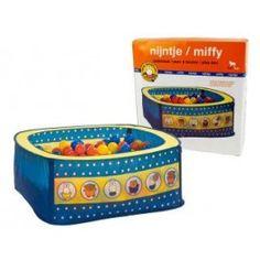 Nijntje ballenbak met 50 ballen € 31,00 gratis verzending http://smallspender.nl/kids/baby-accessoires/nijntje-ballenbak-met-50-ballen.html