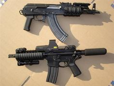 AR and AK pistols