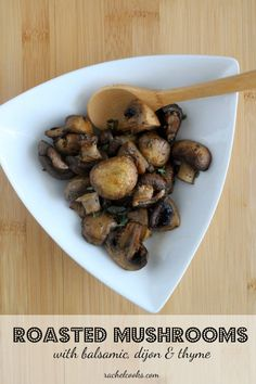 Balsamic And Thyme Roasted Portabella Mushrooms Recipe — Dishmaps