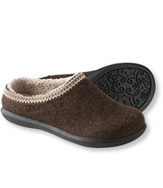 #LLBean: Daybreak Scuffs. I have these in gray and argyle.