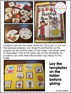Chinese New Year Lapbook; complete with templates, photographs and directions; $