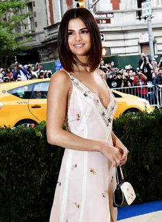 """rihannafenty: """" Selena Gomez attends the 'Rei Kawakubo/Comme des Garcons: Art Of The In-Between' Costume Institute Gala at Metropolitan Museum of Art on May 1, 2017 in New York City. """""""
