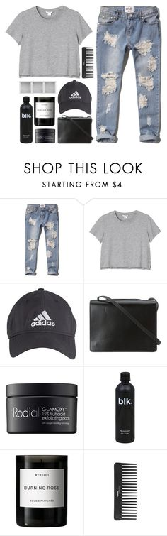 """Can't Take My Eyes Off Of You"" by kara-burke ❤ liked on Polyvore featuring Abercrombie & Fitch, Monki, adidas, BCBGMAXAZRIA, Rodial, Holga, Byredo and Sephora Collection"