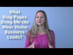My 2 Favorite Blog Page Ideas for Home Business Leads - TanyaAliza.com