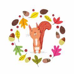callyjane - Eekhoorntje fall, autumn, eichhörnchen, funny,