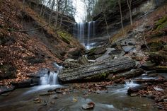 Tinker Falls, NY[2048 x 1365] #nature and Science