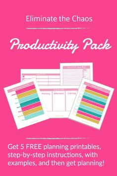 Have a more organized and productive week with the 5 FREE printables in the Productivity Pack. Weekly and daily planning sheets, brain dump prompts, and bullet journal supplies list. Time management for moms, ideal for stay at home moms and work at home m Home Management Binder, Time Management Tips, Stay At Home Mom, Work From Home Moms, Folding Fitted Sheets, Declutter Your Mind, Brain Dump, Life Organization, Organizing Ideas