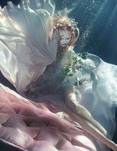 Not waving but drowning...