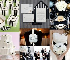 black and white theme with blush pink   #Weddingbee for #TheLab2013: http://ht.ly/cYt6T
