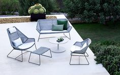 Delta Wicker Outdoor Lounge Chairs & Sofas