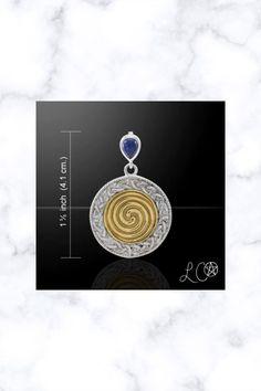 Celtic Ancestral Wisdom Spell Sterling Silver Pendant