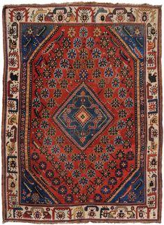 Persian Qashqai Rug - 1900