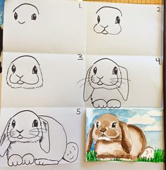 smART Class: Bunny One Day Watercolor Project with BunBun