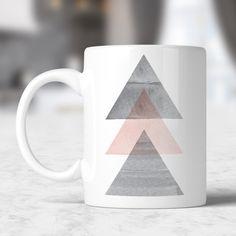 Caneca Watercolor Triangles no Mercado Livre Brasil dacc92fc239