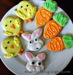 Easter Sugar Cookies with Royal Icing abushelandahug.blogspot.com