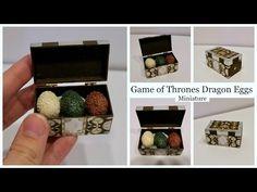 Miniature Game of Thrones Dragon Eggs Tutorial - YouTube