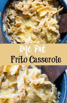 This one pot frito casserole recipe is delicious! It's perfect for families, and…