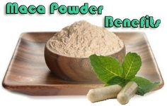 Organic Maca Powder @ Pills