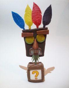 Aku Aku, Crash Bandicoot http://fun-bit.lojaintegrada.com.br/