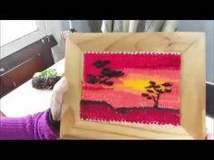 Weaving Techniques, Loom Beading, Handmade Crafts, Plastic Cutting Board, Lana, Knitting, Youtube, Felting, Videos
