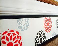 Dahlia Flower / Modern Dahlia / Stair Riser / Alternative to Stair Decals, Riser Decals or Stair Stickers / Modern Home Decor / Item 071