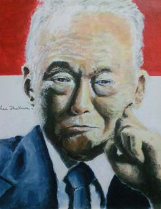 Lee Kuan Yew, GCMG CH is a #Singaporean politician. He was the first Prime Minister of the Republic of #Singapore, governing for three decades. He is also widely recognized as the founding father of modern Singapore.  Wikipedia: http://en.wikipedia.org/wiki/Lee_Kuan_Yew