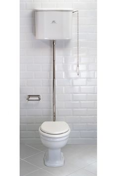 Lefroy Brooks La Chapelle high level toilet with flush pipe, pull and chain LB7711, LB7709 ,LB7797, LB1310, LB7787